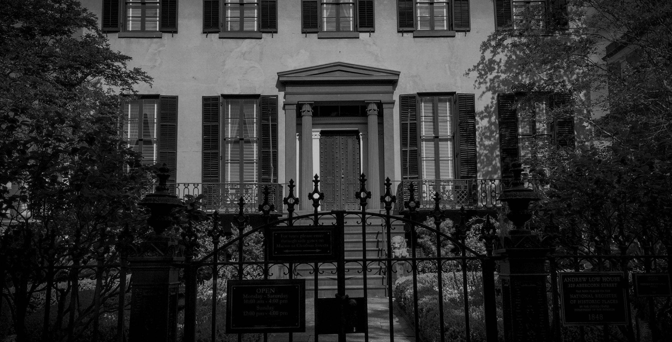 Andrew-Low House Haunted Savannah Tours