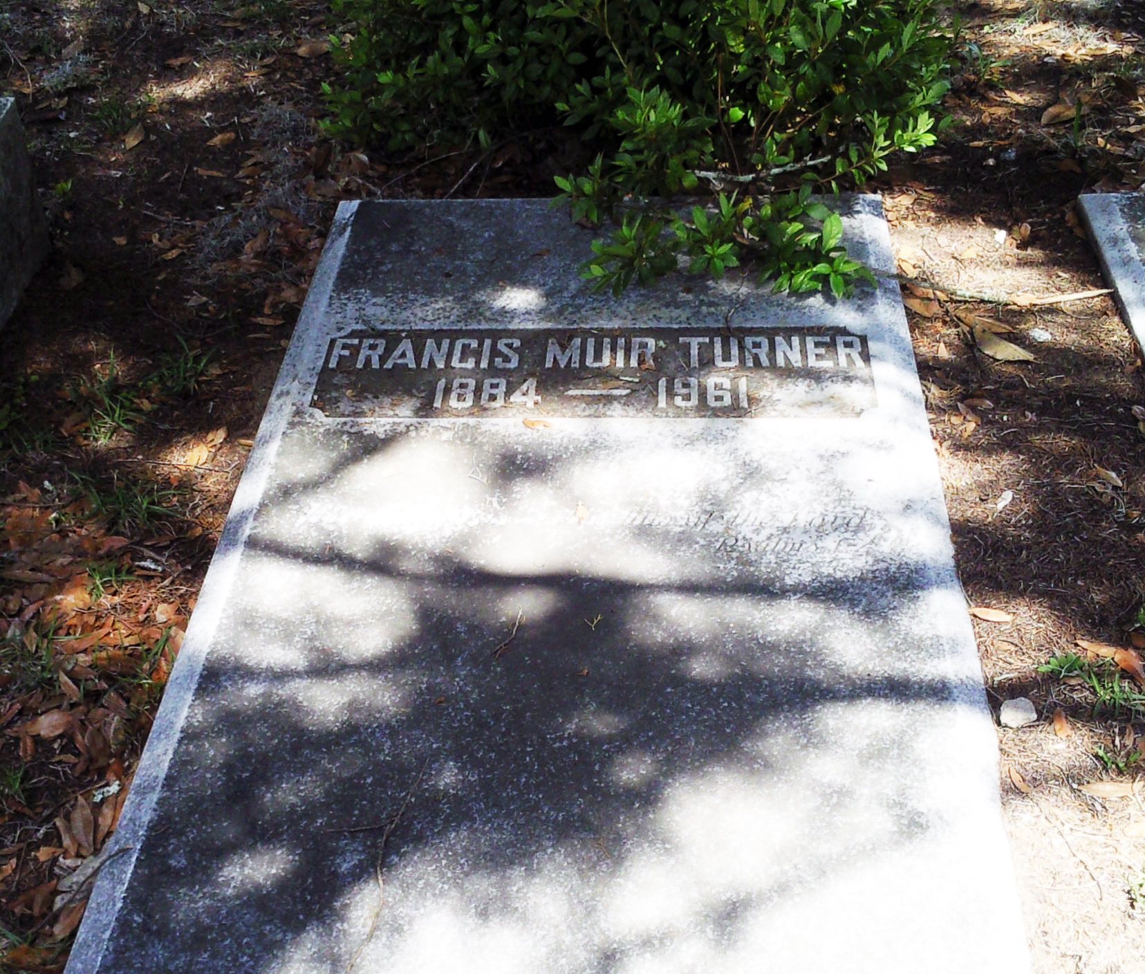 Francis Turner Grave
